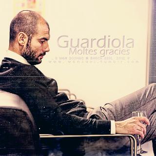 Moltes gracies .. Guardiola by w6n3oshaq