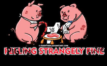 PIGling strangely Swine