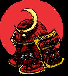 Samurai RedMoon Helmet