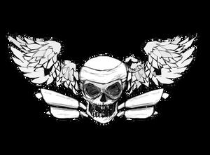 one 4 all rider SKull Logo
