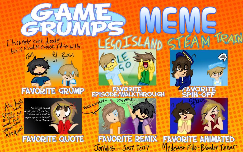 Game Grumps Meme By Mhspectra25 On Deviantart
