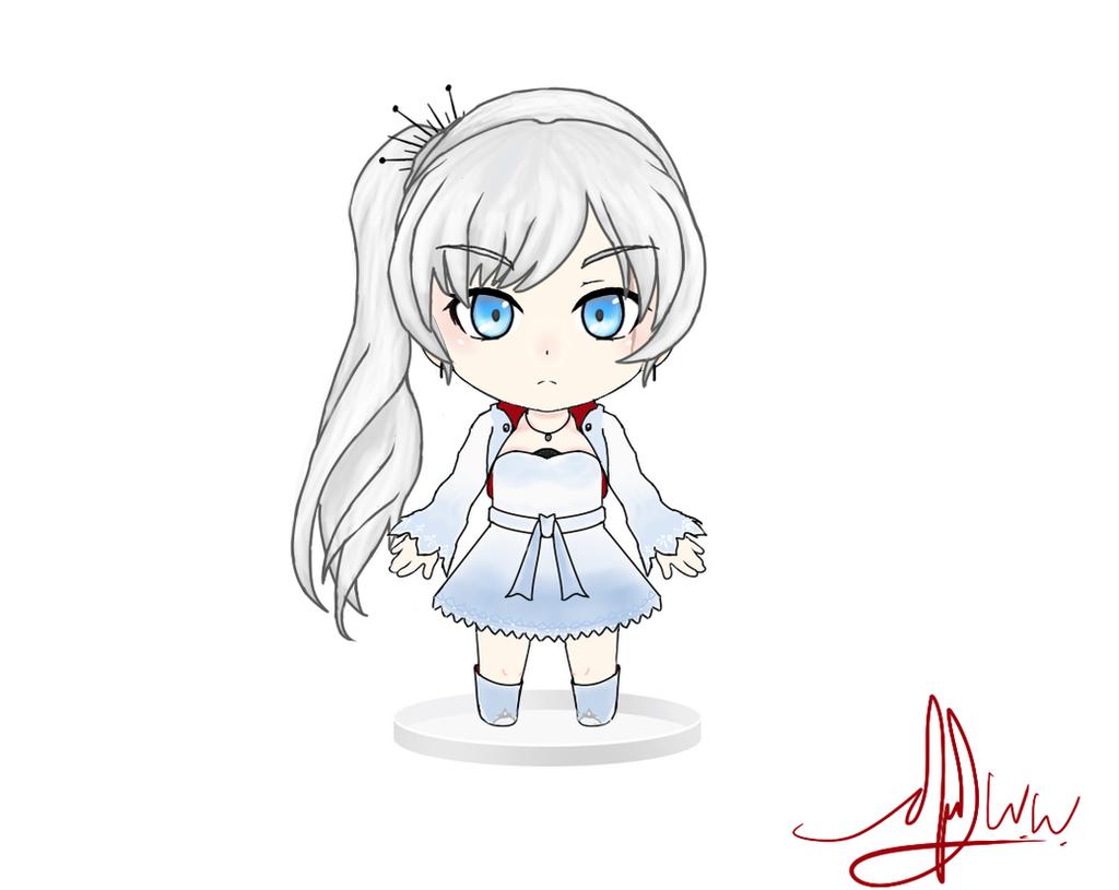 Weiss Schnee Nendoroid Art by RyuaChan