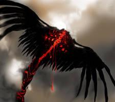 Red Hawk Speedsketch by Catsblood