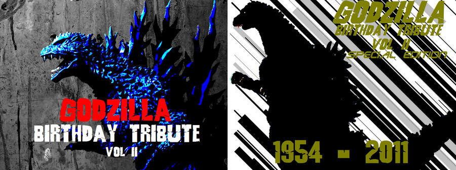 Godzilla BT Vol 2 Covers by GIGAN05