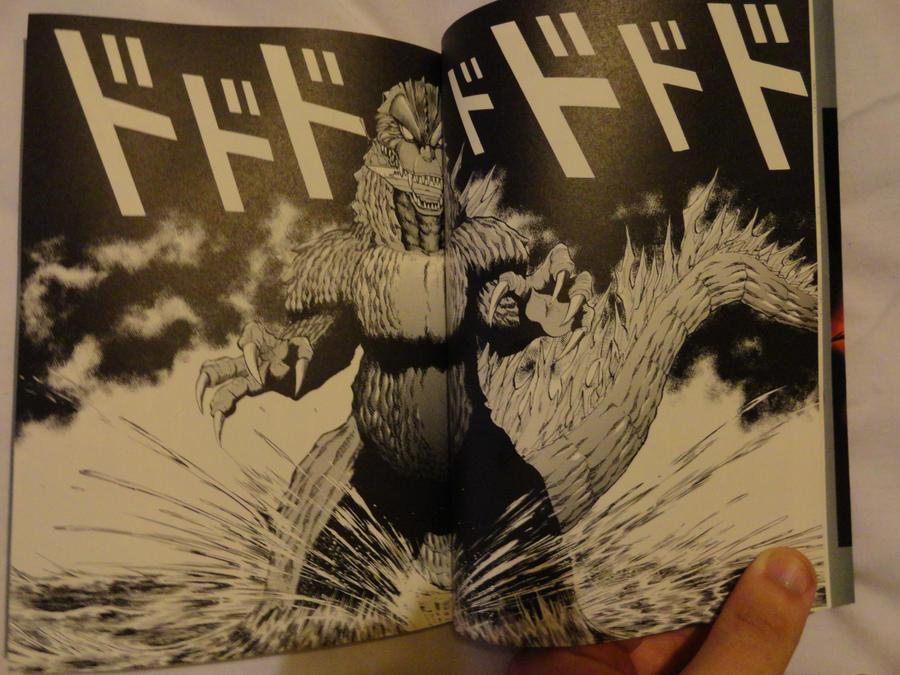 Godzilla 2000 Manga Shot 2 by GIGAN05