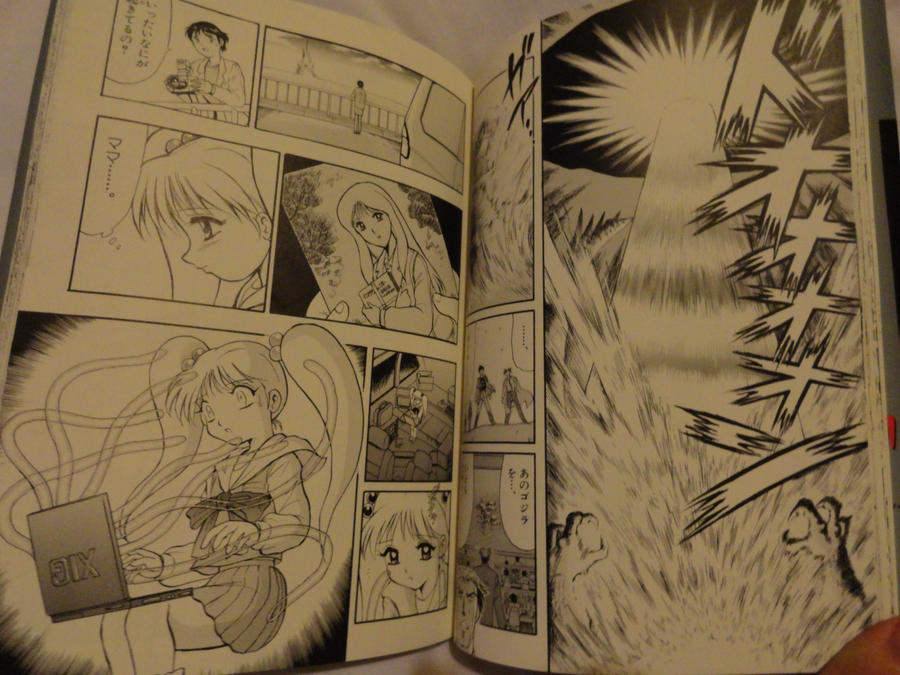 Anime Characters 2000 : Godzilla manga shot by gigan on deviantart