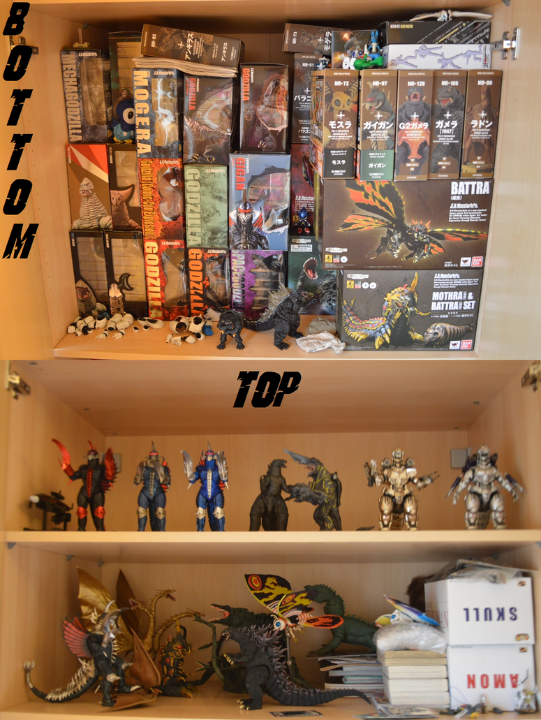Semi Final Kaiju Collection Update 11-09-14 by GIGAN05