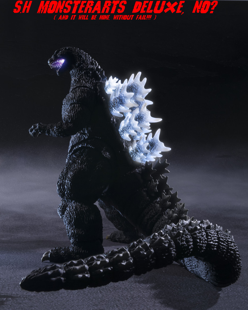 S.H Monsterarts KouKyouKyoku - Godzilla 1989 by GIGAN05 on ...