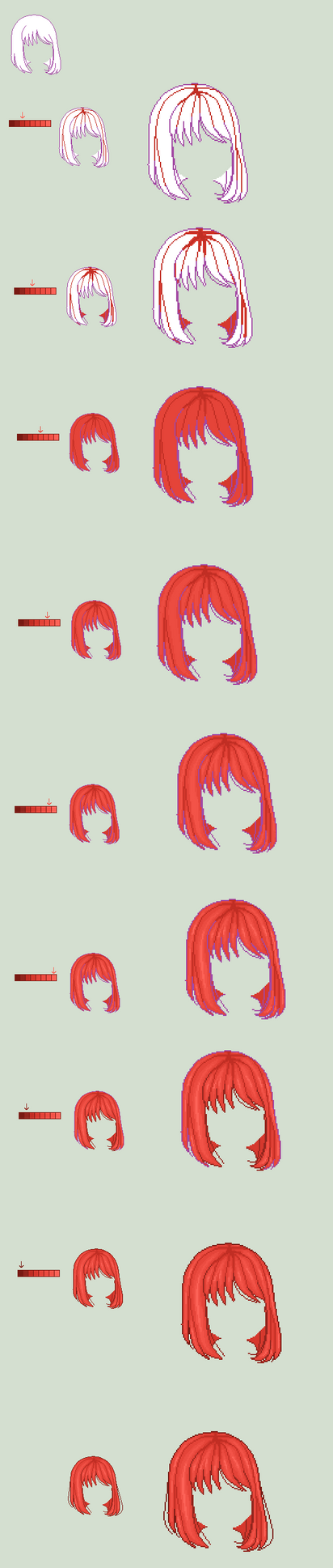 Snazzy Tutorials: Hair by moomoonya1