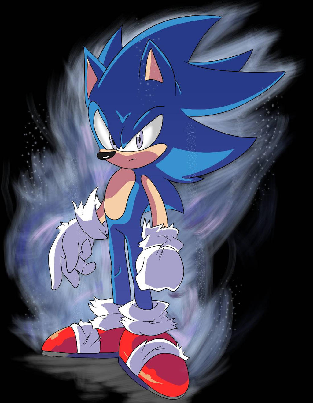 Sonic The Hedgehog Hair Design