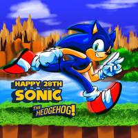 Sonic's 28th Birthday