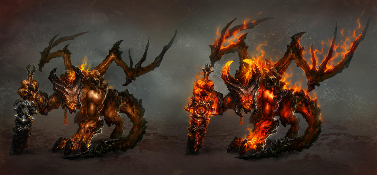 Inferno - Pit Fiend by rawwad