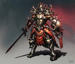 Dragon Skirt Knight