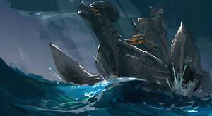 modern viking boat 30min by rawwad