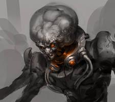 alien something ... by rawwad