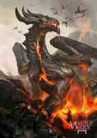 Fire Dragon by rawwad
