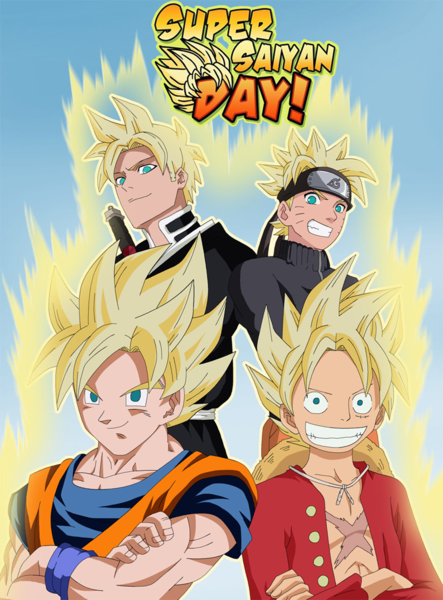 Happy super saiyan day kanzenshuu - Super sayenne ...