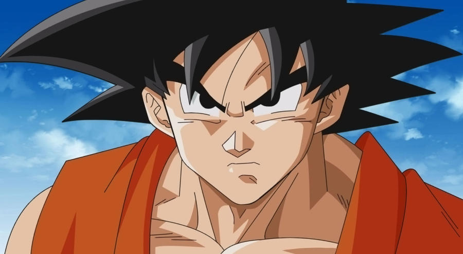 Goku vs vegeta doing transformation ssjssgod by ELordy
