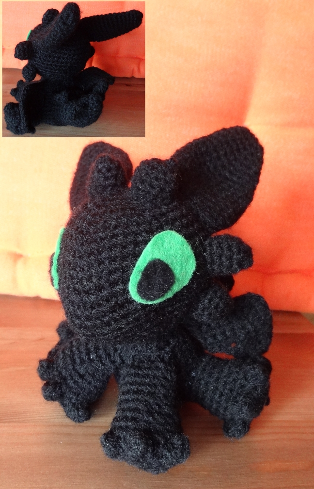 Night Fury Amigurumi by Narmita08 on DeviantArt