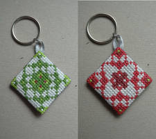 Geometric Keyfob by Narmita08