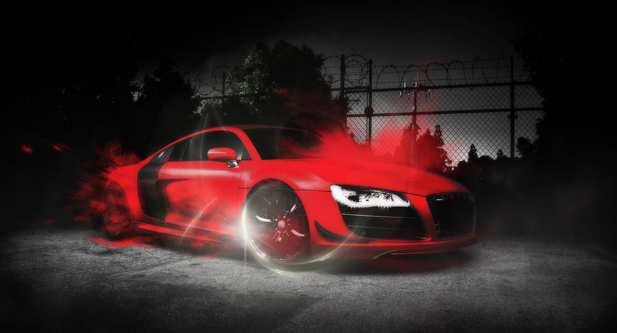 audi-r8 wallpaperdigitaltechnics on deviantart