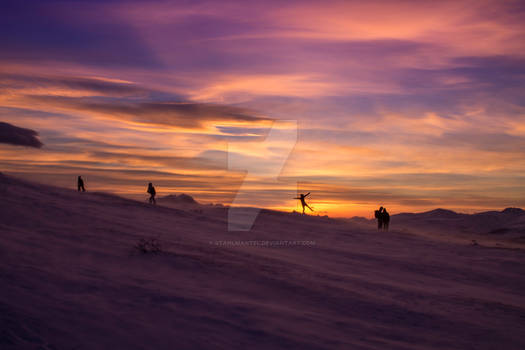 Tromso sunset