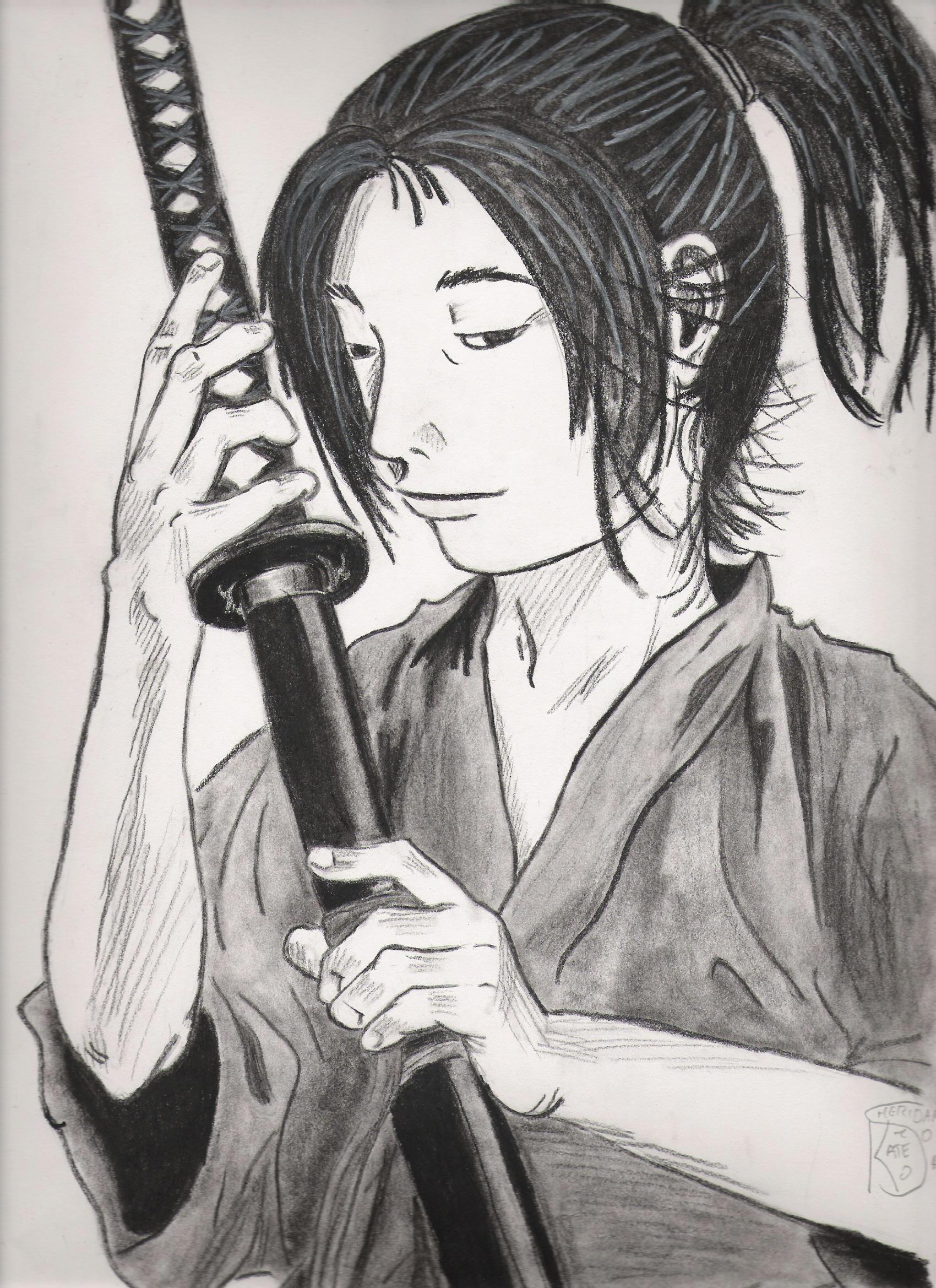 Sasaki Kojiro From Vagabond By Ksheridan