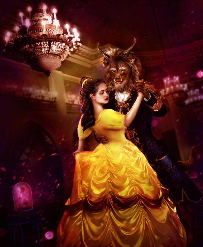 Beauty and the Beast by Das-Pfanntom