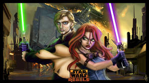 Star Wars Rebels - Luke Skywalker and Mara-Jade