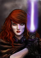 Mara Jade Skywalker - Star Wars by Queen-Azshara