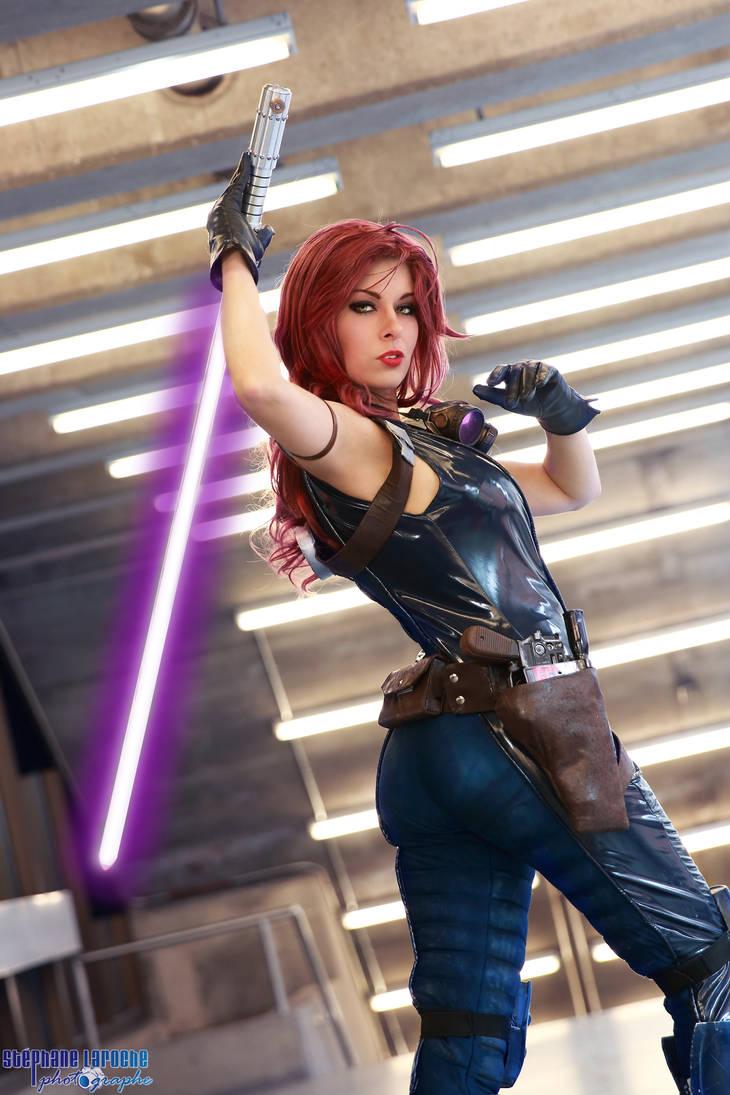 Mara Jade kotobukiya - Star Wars EU by Queen-Azshara on