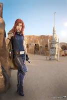 Mara jade kotobukiya - tatooine by Queen-Azshara
