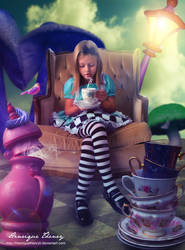 Alice - Coffee time by Henriqu3Campos