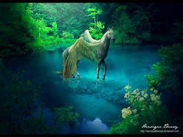 Pegasus by Henriqu3Campos