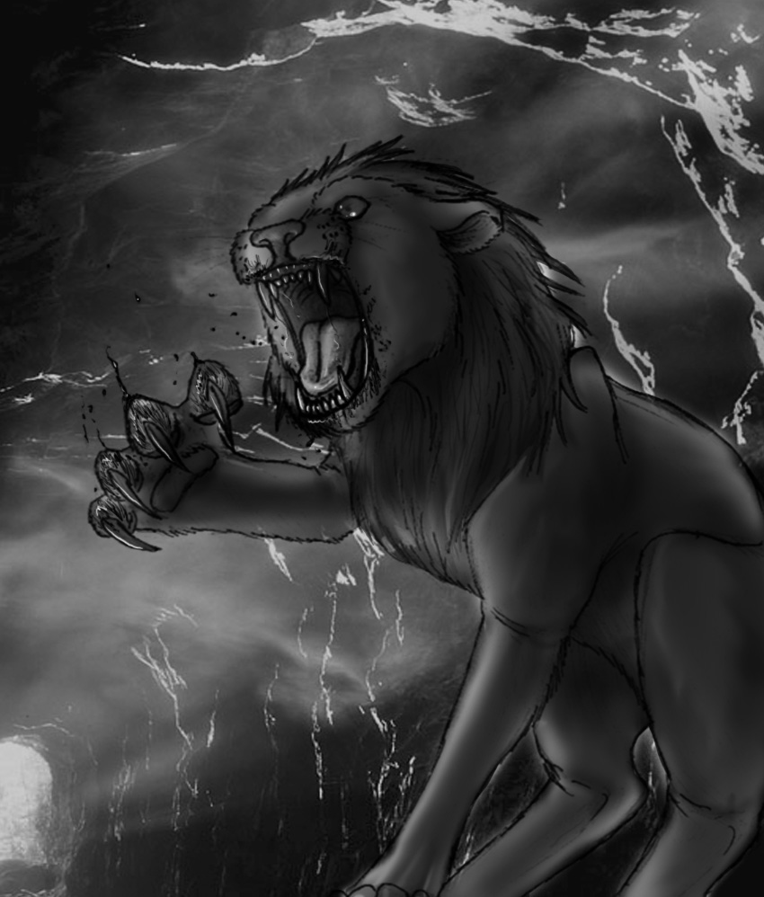 Greek Mythology: Nemean Lion by Koskimangusti on DeviantArt