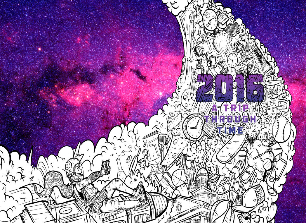 Yearbook Cover Drawing : Trenton central highschool yearbook cover by bayron on