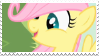 Child Fluttershy - stamp by V1KA