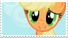 Applejack - stamp by V1KA