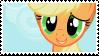 Applejack - stamp by V1KA