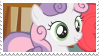 Sweetie Belle - stamp by V1KA