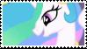 Princess Celestia - stamp by V1KA