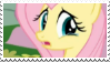 Sad Fluttershy - stamp by V1KA