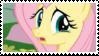 Sad Fluttershy - stamp by V1KA