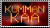 Kumman kaa - stamp by V1KA