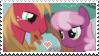 Cheerilee x Bic Macintoish - stamp by V1KA