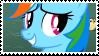 Rainbow Dash - stamp by V1KA
