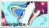 Georgette - stamp by V1KA