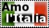 Amo l'Italia - stamp by V1KA