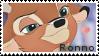 Ronno - stamp by V1KA
