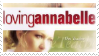 Loving Annabelle - stamp by V1KA